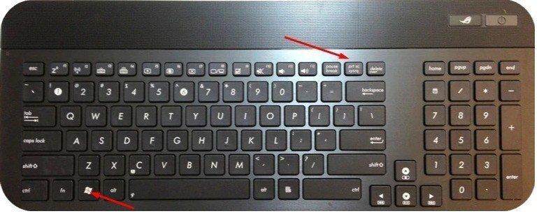 ways to take a screenshot on asus laptop